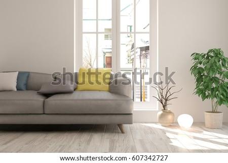 White Interior Design Furniture Scandinavian Interior