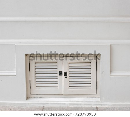 European style window stock photo 528108847 shutterstock for Door with small window