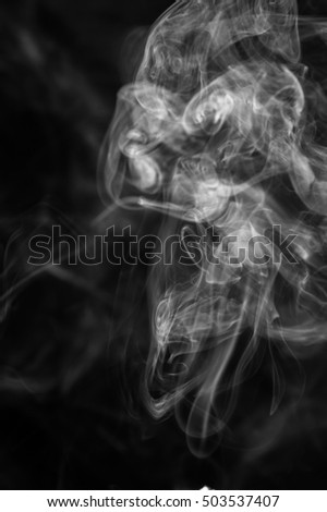 White smoke abstract background pollution.