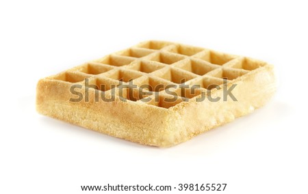 white space and waffles