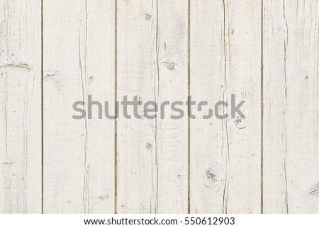White wooden background texture.