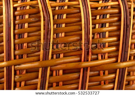 wicker wood texture