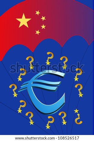 Will or can China save Europe and the Euro? Chinese can halt the European debt crisis through rescue package and bailout funds