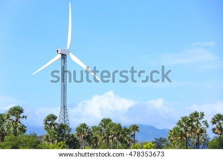 wind mill its generate power from wind