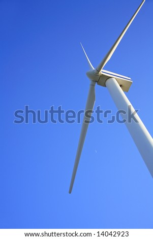 Wind turbine and copy space