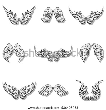 Wings collection set