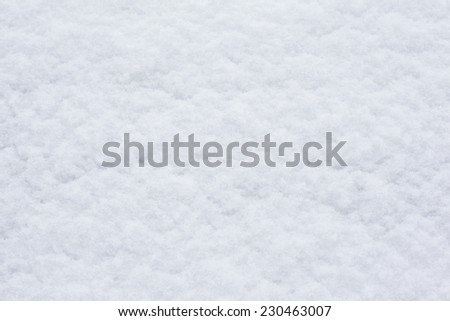 winter background of flat white snow surface