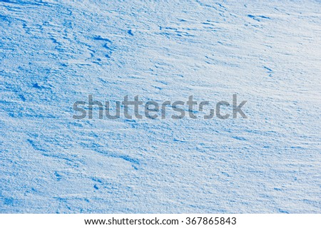 Winter background, snow