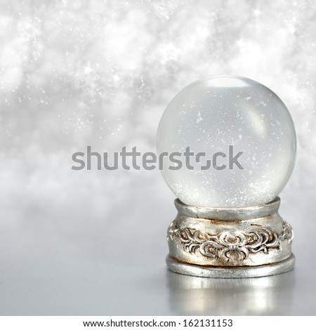 winter ball of silver
