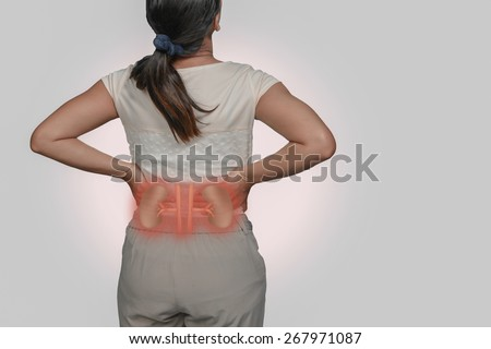 Female Uterine Infection Stock Photo 267974855