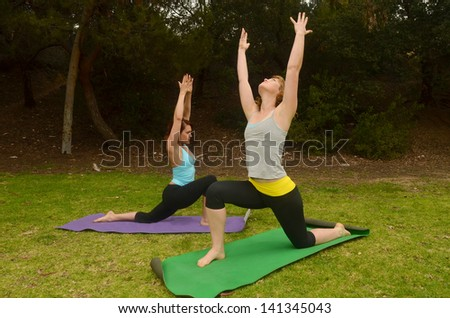 Yoga Photography Outdoors Stock Photo Woman Doing Outdoor