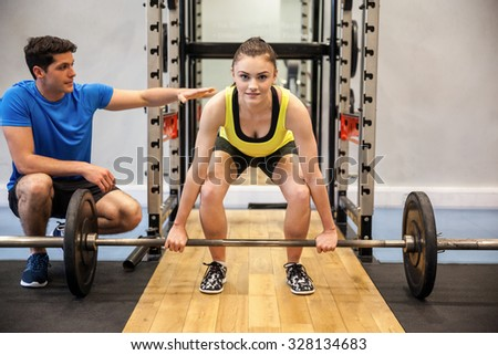 crossfit fitness gym weight lifting bar stock photo
