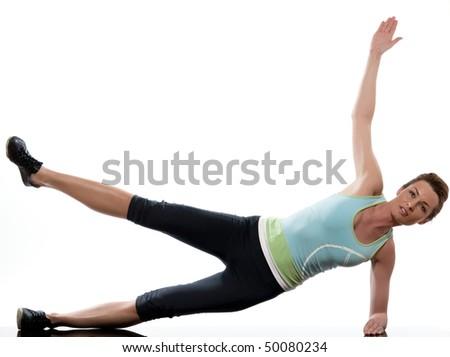 male ballet dancer warming showing flexibility stock photo