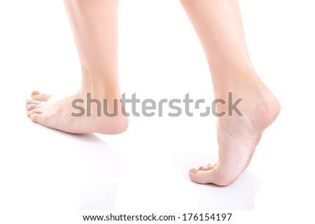 how to clean feet white vinegar