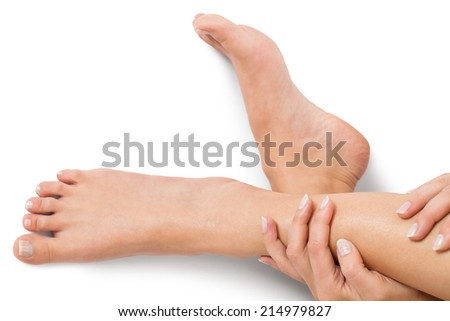 how to give a foot massage without oil