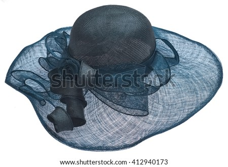 Women cloth hat with a veil