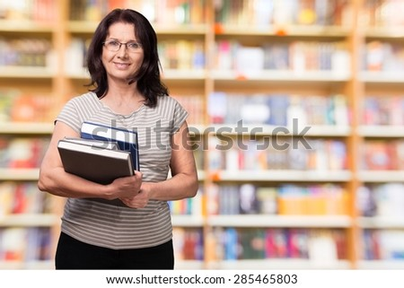 Women, Old, Book.