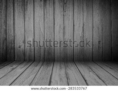 Wood plank dark texture background
