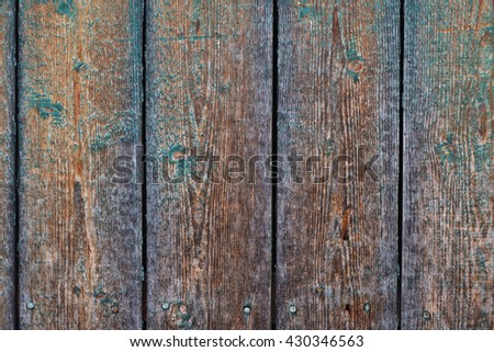 Wood planks from an old house
