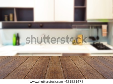 Kitchen Table Top Background wood table top blur kitchen room stock photo 472943425 - shutterstock