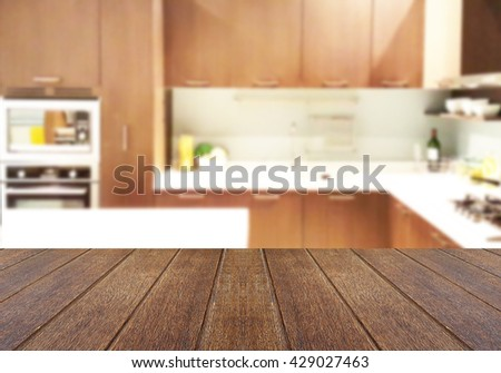 Kitchen Table Top Background kitchen room wooden table texture on stock photo 353385767