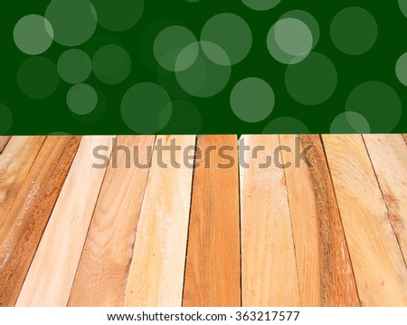 wood texture for background, horizontal on green background