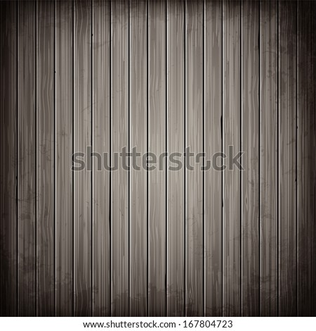 Wooden grey plank background. Realistic wood texture.