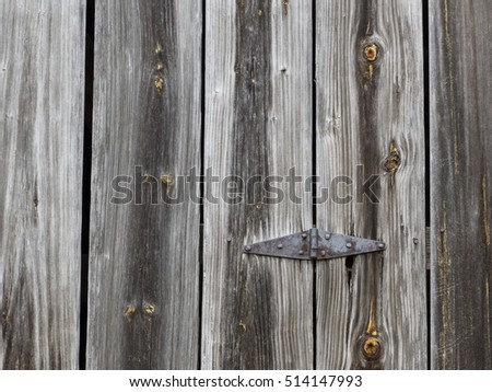 Wooden planks of an old barn.
