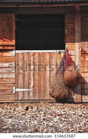 Wooden Stable Doors