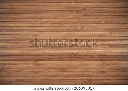 Wooden surface of bamboo as background.