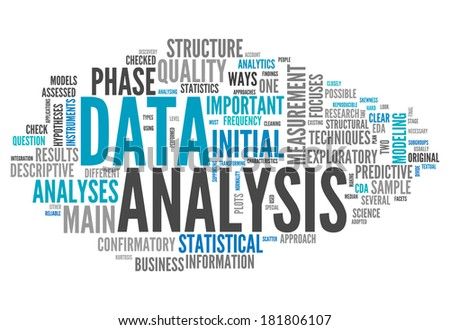 Word Cloud Data Analysis Related Tags Illustration 181806125 – Data Analysis