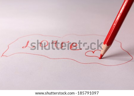 Note Love Confession Stock Photo 566982268 - Shutterstock