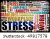 Work Stress in the Workplace as Concept - stock photo