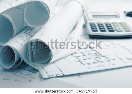 Blueprints laptop stock photo 139490855 shutterstock for Blueprint estimator
