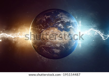 Worlds End (Elements of this image furnished by NASA)