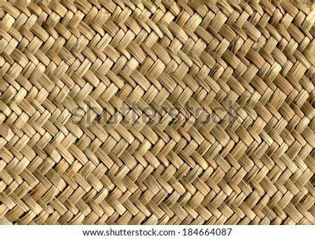 Straw texture stock photo 25216489 shutterstock for Bamboo weaving tutorial