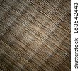 woven reed texture, woven reed background - stock photo