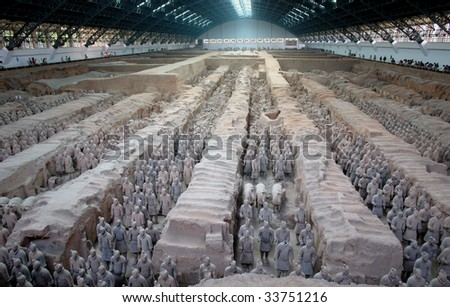 Xian Terracotta Warriors and Horses,