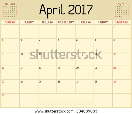 stock-photo-year-april-planner-a-monthly-planner-calendar-for-april-a-custom-handwritten-style-is-504089083.jpg