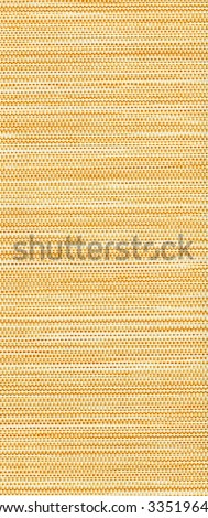 Yellow textile flax fabric wickerwork texture background. (See more background in my portfolio).