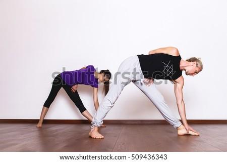 two young women dancing gym stock photo 443889814