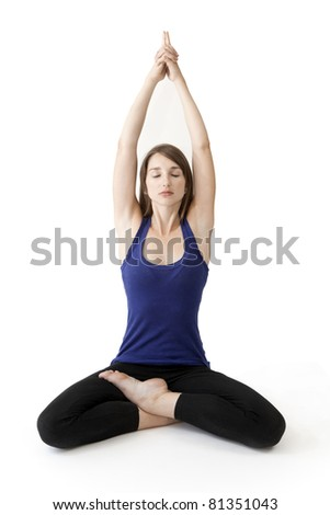 Yoga position relaxation