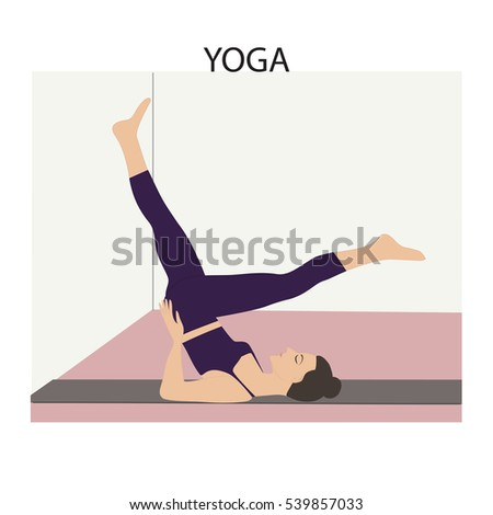 Yoga Wall Light : High Heels Inside Vector Sticker Stock Vector 277873526 - Shutterstock