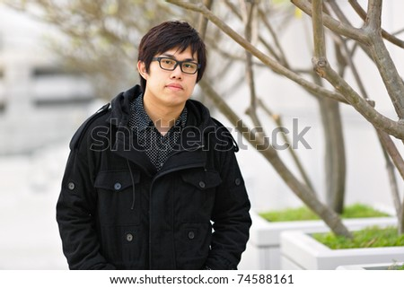 young asian man