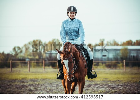 Image result for horseback riding stock image small
