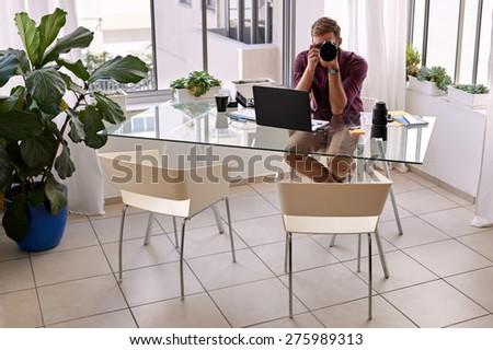 white home studio people creative office coworking center university stock vector