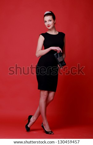 retro style cabaret vintage clothing stock photo