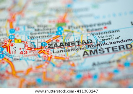 Zaanstad Netherlands Stock Photo 411303196 Shutterstock