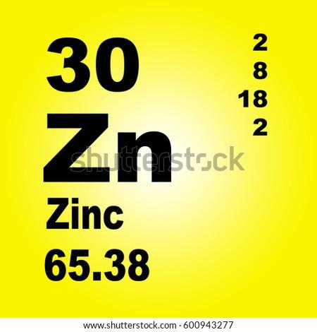 Zirconium periodic table elements stock illustration 605312123 zinc periodic table of elements urtaz Gallery
