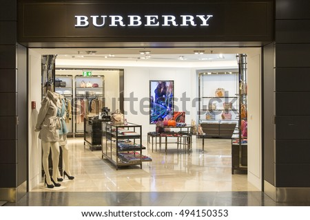 ZURICH - MARCH 21, 2015: A Burberry fashion store. Burberry had revenue of GBP 2.5 billion and GBP 421 million operating profit in the year ended 31 March 2016.